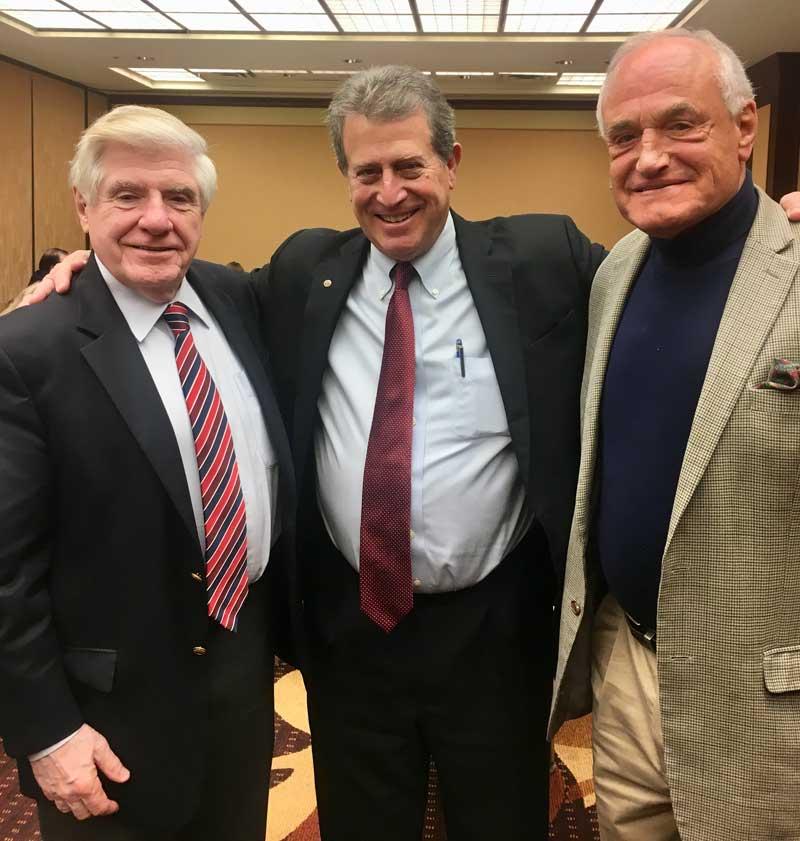 Senator Ben Nelson, Norman E Taplin, Congressman Barry M. Goldwater, JR.